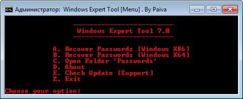 Windows Expert Tool