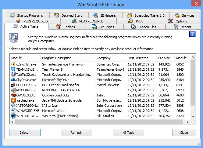 تحميل برنامج WinPatrol لكشف وحذف الملفات الخبيثة WinPatrol_16_07_2013_01