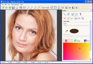 برنامج ميكاب جيود Makeup Guide