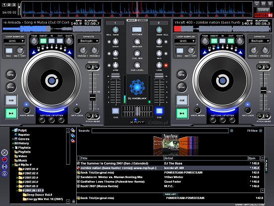 [ ������ ] : ������ ���� �� ���� ��������� Virtual DJ Studio 6.9.8