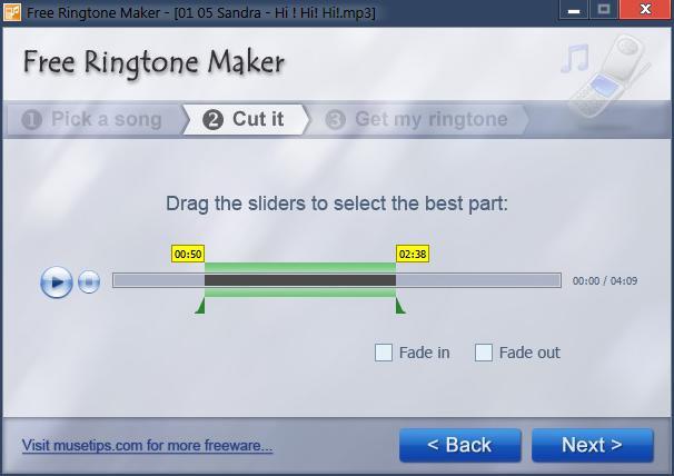 برنامج رينج تون ميكر Ringtone Maker